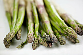 Aliment, Aliments, Asparagus, Close up, Close-up, Closeup, Color, Colour, Cuisine, Food, Foodstuff, Green, Green vegetable, Green vegetables, Healthy, Healthy food, Indoor, Indoors, Ingredient, Ingredients, Interior, Nourishment, Nutrition, Raw, Selective
