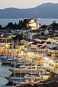 Harbor View. Evening. Pythagorio. Samos. Northeastern Aegean Islands. Greece.