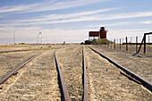Curdimurka Railway Siding Old Ghan Railway, Oodnadatta Track, Outback, South Australia, Australia