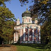 Alexander Newski Memorial Church, Potsdam, Land Brandenburg, Germany