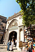 Exterior view of the Grand Bazaar, Kapali Carsi, Istanbul, Turkey, Europe