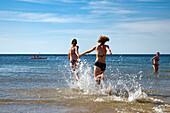 Beach, Westerland, Sylt Island, North Frisian Islands, Schleswig-Holstein, Germany
