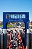 Ferry, Harbour, Wyk, Föhr Island, North Frisian Islands, Schleswig-Holstein, Germany