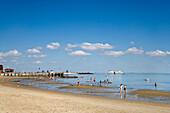 Beach, Wyk, Föhr Island, North Frisian Islands, Schleswig-Holstein, Germany