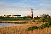 Lighthouse, Pellworm Island, North Frisian Islands, Schleswig-Holstein, Germany
