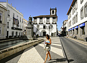 Cityhall, Town Hall, Ponta Delgada, Sao Miguel, Azores, Portugal