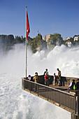 Rhine Falls (Europe's largest waterfall), Schaffhausen, Canton of Schaffhausen, Switzerland