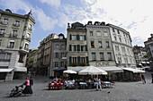 Place de la Palud, Old Town, Lausanne, Canton of Vaud, Switzerland