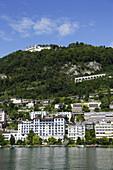 View to Montreux, Canton of Vaud, Switzerland