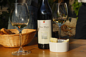 Winetasting, Lavaux, Canton Vaud, Switzerland