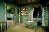Interior view of a friesian house, museum, Keitum, Sylt island, North Friesland, Schleswig-Holstein, Germany
