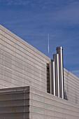 Außenaufnahme einer Architektur, Ingolstadt, Bayern, Deutschland