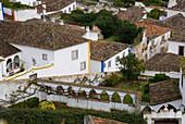 Old town of Obidos, Obidos, Leiria, Estremadura, Portugal