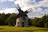 Windmill near Hemse, Gotland, Sweden, Scandinavia, Europe