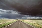 Country road. Colorado, USA