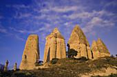Rock formations, Love Valley near Goreme Cappadoccia, Turkey