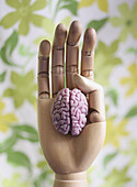 Articulated, Artistic effect, Brain, Close up, Close-up, Closeup, Color, Colour, Concept, Concepts, Control, Controlling, Dehumanization, Detail, Details, Dummies, Dummy, Finger, Fingers, Hand, Hands, Idea, Ideas, Indoor, Indoors, Intelligence, Interior,