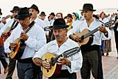Folklore group in Maspalomas, Gran Canaria, Spain