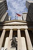 Federal Hall, Wall Street, Manhattan, New York City, New York, USA