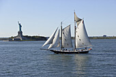 Statue of Liberty, Liberty Island, New York City, New York, USA