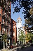 Church, Christopher Street, Greenwich, Manhattan, New York City, New York, USA