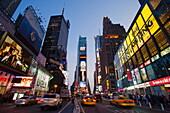 Times Square, Manhattan, New York City, New York, USA