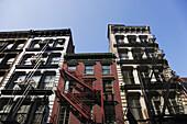 Gusseisen Architektur, Soho, Manhattan, New York City, New York, USA