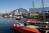Waterfront and Table Mountain, Cape Town, Western Cape, South Africa, Africa
