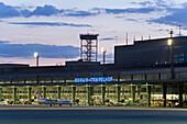 facade Tempelhof Airport, Berlin, Germany