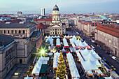 Christmas market, Französischer Dom, Gendarmenmarkt, Berlin, Germany