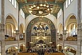 Nave, Rykestrasse Synagogue, Prenzlauer Berg, Pankow, Berlin, Germany