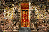 Entrance of Pura Beji Temple at Sangsit, Northern Bali, Indonesia, Asia