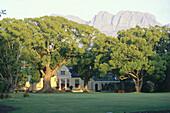 Vergelegen Wine Estate, Manor house, Helderberg, Somerset West, Western Cape, South Africa, Africa