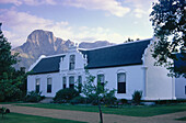 Boschendal Estate with Groot Drakenstein in the background, Franschhoek, Western Cape, South Africa, Africa