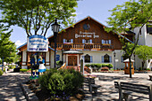 Famous Bavarian Inn at Historical Frankenmuth Michigan MI known as Michigans Little Bavaria is a popular world wide travel destination