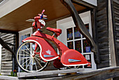 Historic trycycle at kids store at theHistoric Amana Colonies, Iowa, USA