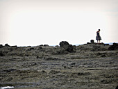 Adult, Adults, Alone, Beach, Beaches, Calm, Calmness, Casual, Coast, Coastal, Color, Colour, Contemporary, Daytime, Dress, Dresses, Exterior, Female, Full-body, Full-length, Human, Informal, Leisure, One, One person, Outdoor, Outdoors, Outside, Peaceful,
