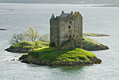 Castle Stalker, Port Appin, Scotland. This Castle was made famous by appearing in the closing scenes of Monty Python and the Holy Grail.