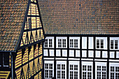 Den Gamle By or The Old Village a living copy of Danish villages in 19th Century. Aarhus. Denmark.