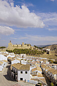Antequera's castle, XII-XVI century. Malaga province. Andalusie. Spain.