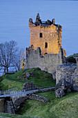 Urquhart Castle. Loch Ness.  Highlands, Scotland. U.K