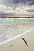 Storm at Alcudia's Bay. Majorca, Balearic Islands, Spain