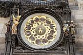Astronomical Clock and Calendar, The Old Town Square, Prague, Czech Republic