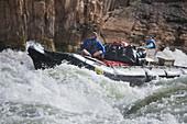 United States, US, Arizona, Grand Canyon National Park, Colorado River, Granite Rapids.