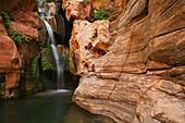 United States, US, Arizona, Grand Canyon National Park, Colorado River, Elves Chasm.