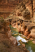 United States, US, Arizona, Grand Canyon National Park, Colorado River, Havasu Creek.