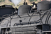 America, Antique, Bell, Coal, Color, Colorado, Colour, Durango, Early, Engine, Guage, Light, Locomotive, Mining, Morning, Narrow, Rail, Silverton, Smoke, Steam, Sunrise, Train, United states, Usa, S19-656856, agefotostock