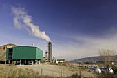 Industry. El Grado, Somontano de Barbastro, Huesca province, Aragon, Spain