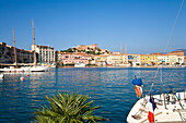 Harbour at Portoferraio, Island of Elba, Italy