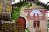 Chapel in Maria Weissenstein pilgrimage church, Petersberg, Deutschnofen, South Tyrol, Italy